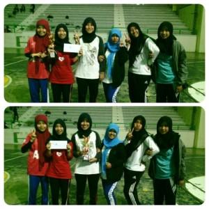Juara Kedua Futsal Putri