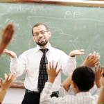 A-teacher-is-teaching-a-class-